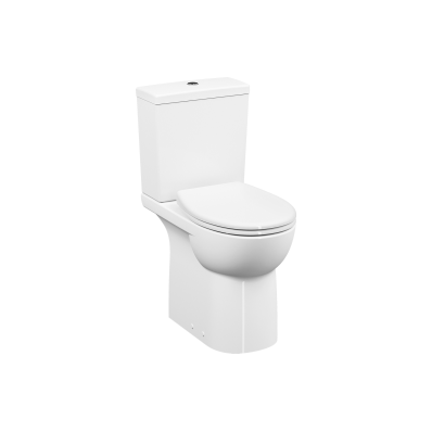 Special Need's Conforma, Rim-ex Close-coupled WC Pan, open back, 65 cm, universal outlet, white