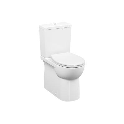 Special Need's Conforma, Close-coupled WC Pan, back-to-wall, 65 cm, universal outlet, water connection from side, white