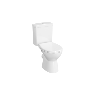 Close-Coupled WC Pan, Open-Back, Horizontal Outlet
