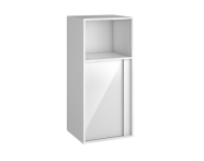 58210 - Metropole 40 cm Additional Unit, White High Gloss, Left