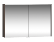 58213 - Metropole Mirror Cabinet 100 cm, Plum