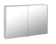 58214 - Metropole Mirror Cabinet 100 cm, White High Gloss