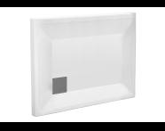 58220001000 - T80 110x80 Rectangular Monoflat Shower Tray