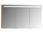 58226 - Elite Mirror Cabinet, 120 cm, Matte White