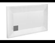 58240001000 - T80 130x80 Rectangular Monoflat Shower Tray