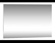 58270 - Deluxe Mirror, Antifog, 120cm