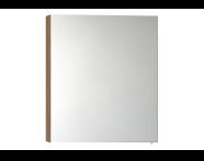 58280 - Mirror Cabinet, Classic, 60 cm, Oak, Right