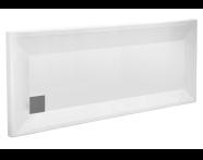 58290001000 - T80 180x80 Rectangular Monoflat Shower Tray
