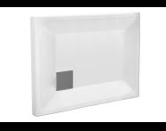 58310001000 - T75 100x75 Rectangular Monoflat Shower Tray