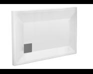 58330001000 - T75 120x75 Rectangular Monoflat Shower Tray
