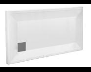 58350001000 - T75 140x75 Rectangular Monoflat Shower Tray
