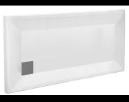 58360001000 - T75 150x75 Rectangular Monoflat Shower Tray