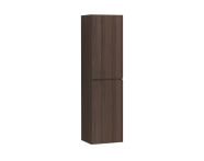 58384 - Memoria Tall Unit with Mechanism, Matte Walnut