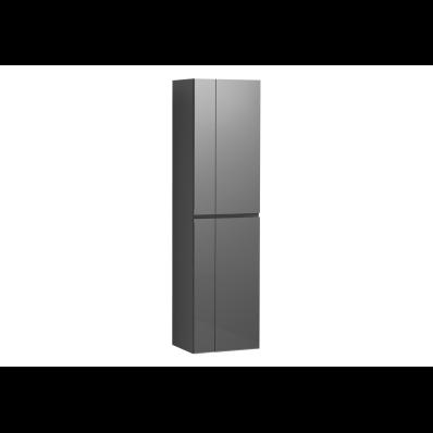 Memoria Tall Unit with Mechanism, Grey High Gloss