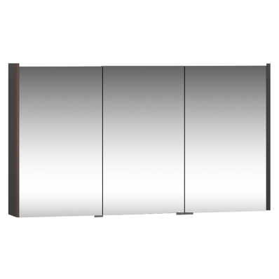 M-Line Infinit  Mirror Cabinet, 120 cm, Plum Tree