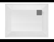 58510001000 - T90 100x90 Rectangular Zero Surface Shower Tray