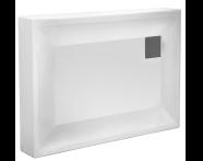 58610001000 - T90 100x90 Rectangular Monobloc Shower Tray