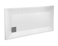58630001000 - T90 120x90 Rectangular Monobloc Shower Tray