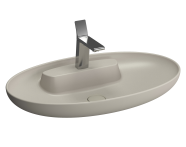 5881B420-0041 - Memoria Oval WashBasin, 75cm, Matte Black