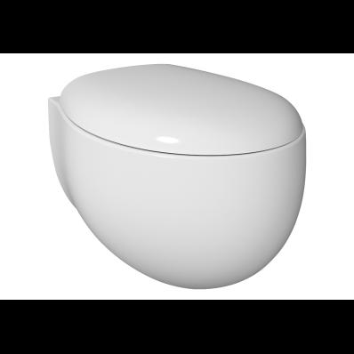 Memoria Wall-Hung WC Pan, White