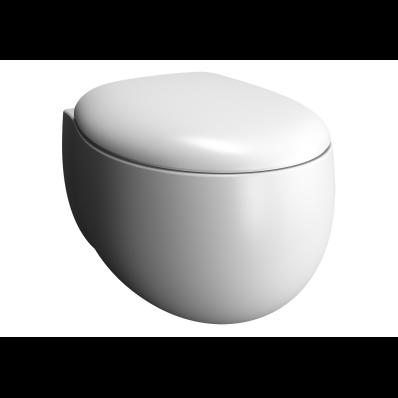 Rim-ex Wall-hung WC pan, matte white