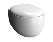 5885B401H0090 - Memoria Rim-Ex Wall-Hung WC Pan, 54 cm,Matte White