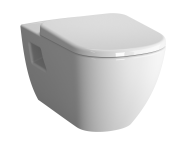 5910B003-0075 - D-Light Wall-Hung WC Pan Lid (without Bidet Pipe)