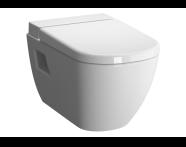 5910B003H1086 - D-Light Wall-Hung WC Pan Lid (without Bidet Pipe), Vitra Fresh
