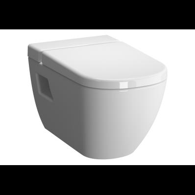 D-Light Rim-Ex Wall-Hung WC Pan Lid (without Bidet Pipe), Vitra Fresh