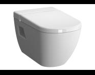 5911B003H1086 - D-Light Rim-Ex Wall-Hung WC Pan Lid (without Bidet Pipe), Vitra Fresh