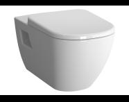 5911B003H7202 - Rim-Ex Wall-Hung WC-Pan with Bidet Function