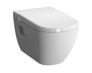 5911B003H7203 - Rim-Ex Wall-Hung WC-Pan with Vitra Fresh Liquid Cleaner Tank, Bidet Function