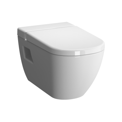 Rim-Ex Wall-Hung WC-Pan with Vitra Fresh Liquid Cleaner Tank, Bidet Function