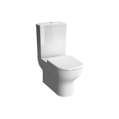 """D-Light  Rim-Ex  Back-To-Wall Close-Coupled WC Pan (without Bidet Pipe; Floor Mounted without Hole)"""