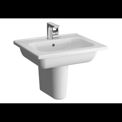 D-Light Vanity Basin, 60cm, with Towel Holder