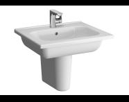 5918B003H6106 - D-Light Vanity Basin, 60 cm, with Towel Holder