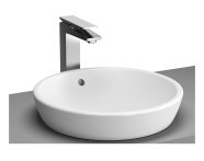 5940B003H0016 - Metropole Countertop Round Bowl, 45 cm, without Tap Hole, without Overflow Hole