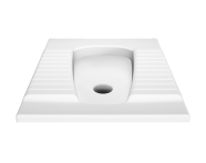 5952L003-0053 - Squatting Pan, 60X50 cm (Top Inlet)