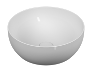 5992B401H0016 - Outline Round Bowl Washbasin, Matte White