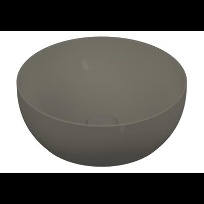 Outline Round Bowl Washbasin, Matte Mink