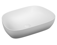 5993B401-0016 - Outline Tv Bowl Washbasin, Matte White