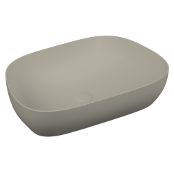 description outline tv bowl washbasin matte taupe code 5993b420 0016 vitraclean yes colour. Black Bedroom Furniture Sets. Home Design Ideas