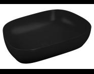 5993B483H0016 - Outline Tv Bowl Washbasin, Matte Black