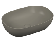 5995B403H0016 - Outline Oval Bowl Washbasin, White