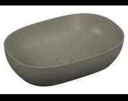 5995B483H0016 - Outline Oval Bowl Washbasin, Matte Black