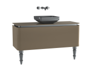 60112 - Gala Classic Washbasin Unit 120 cm Beige-Chrome