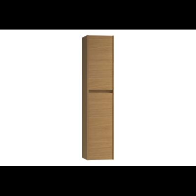 Step Flatpack Tall Unit, 35 cm, White High Gloss, right