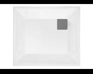 60350001000 - T80 80x80 Square Flat Export Body