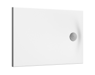 60780001000 - Smooth 90x75  Shower Tray