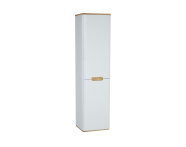 60848 - Sento Tall Unit, 40 cm, without legs, Matte White, right